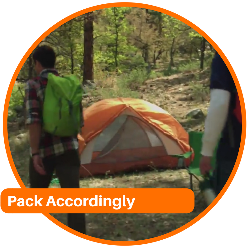 Pack Accordingly: Cold Weather Camping Tips