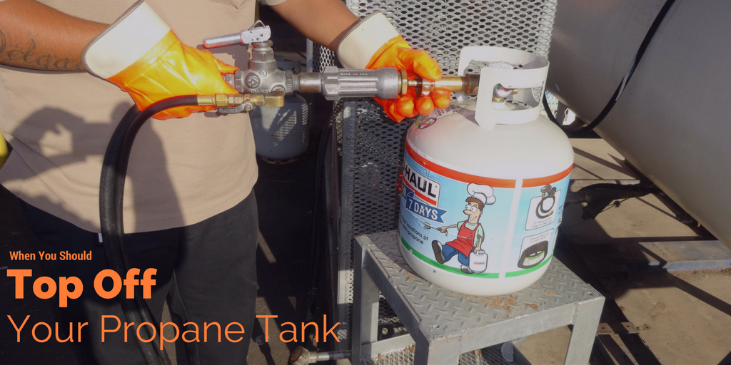top off your propane tank