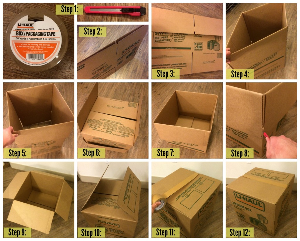 How To Assemble A Box