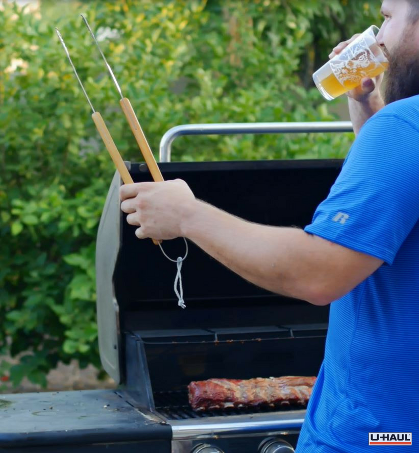 Gas Grilling Ribs