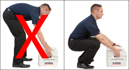 Moving Day Safety: Lifting