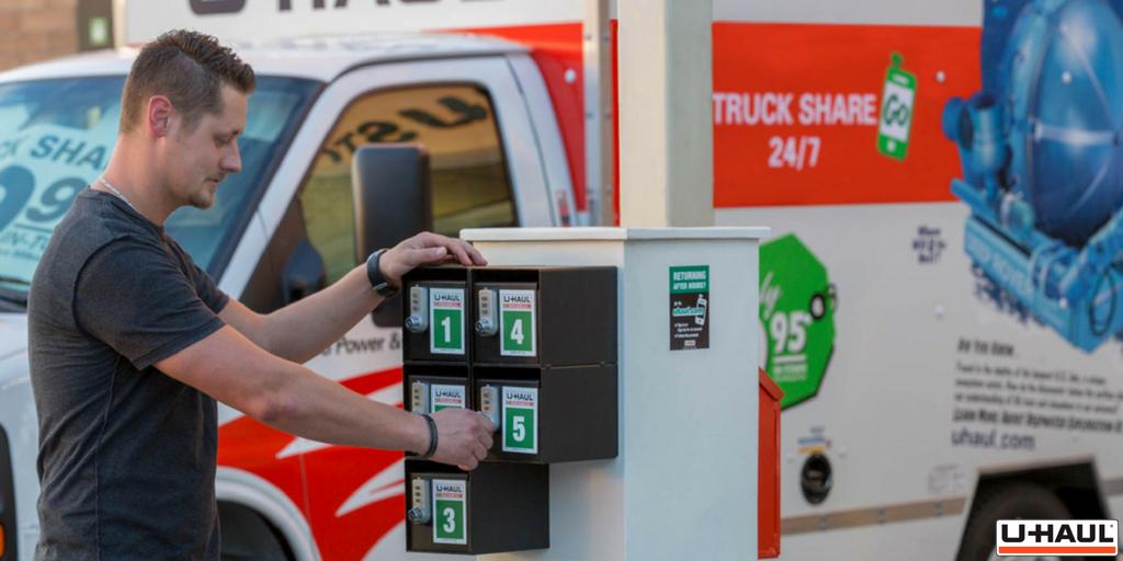 U-Haul Truck Share 24/7