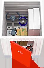 5x5 Storage Hinged Door