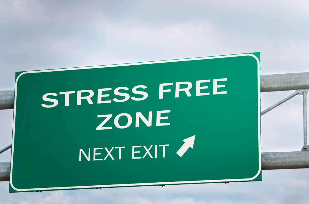 plan your next move to destress