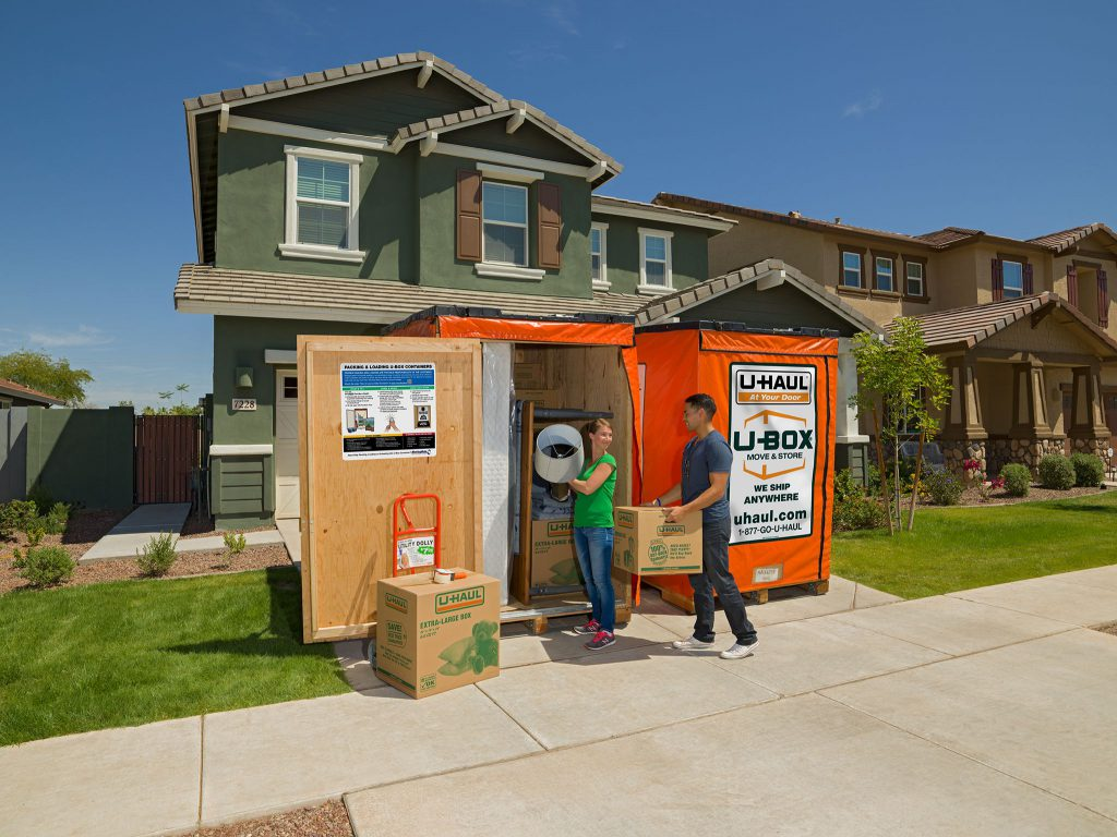 temporary storage at your home