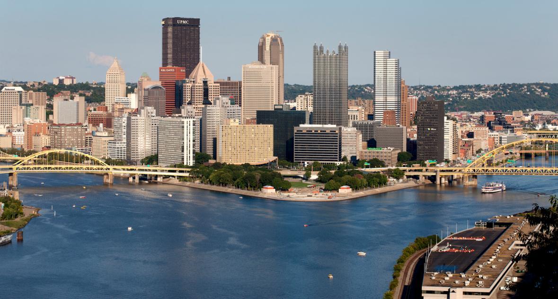 Paysage urbain de Pittsburgh, Pennsylvanie