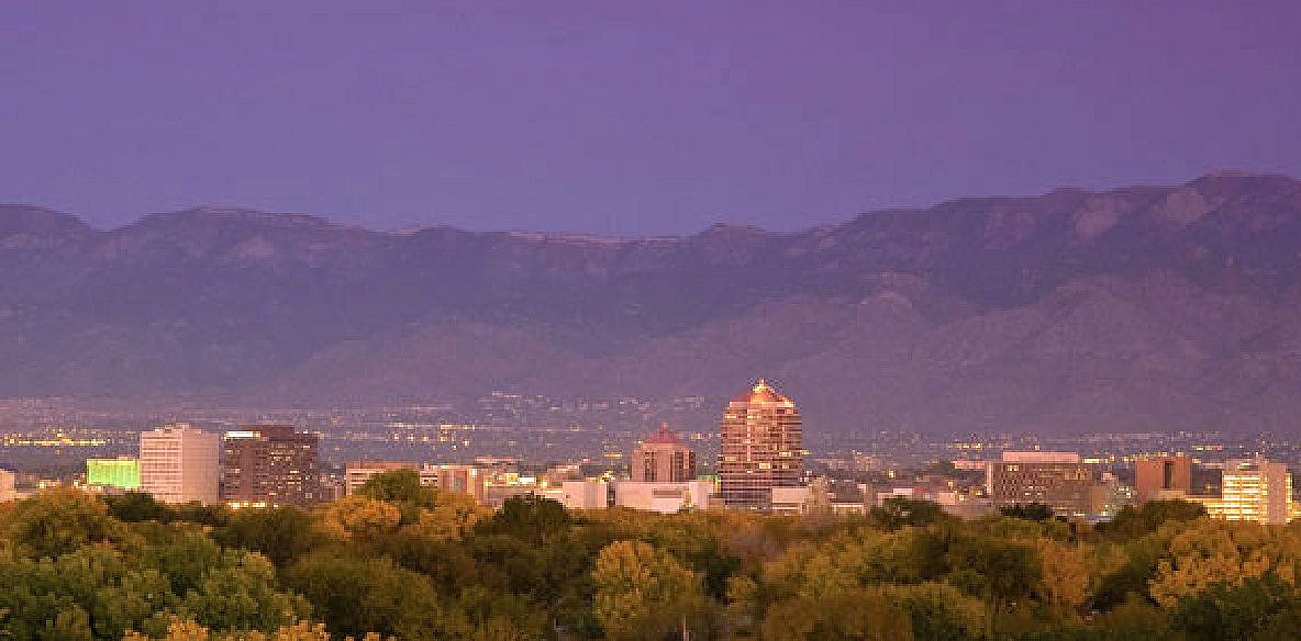 Albuquerque, New Mexico cityscape