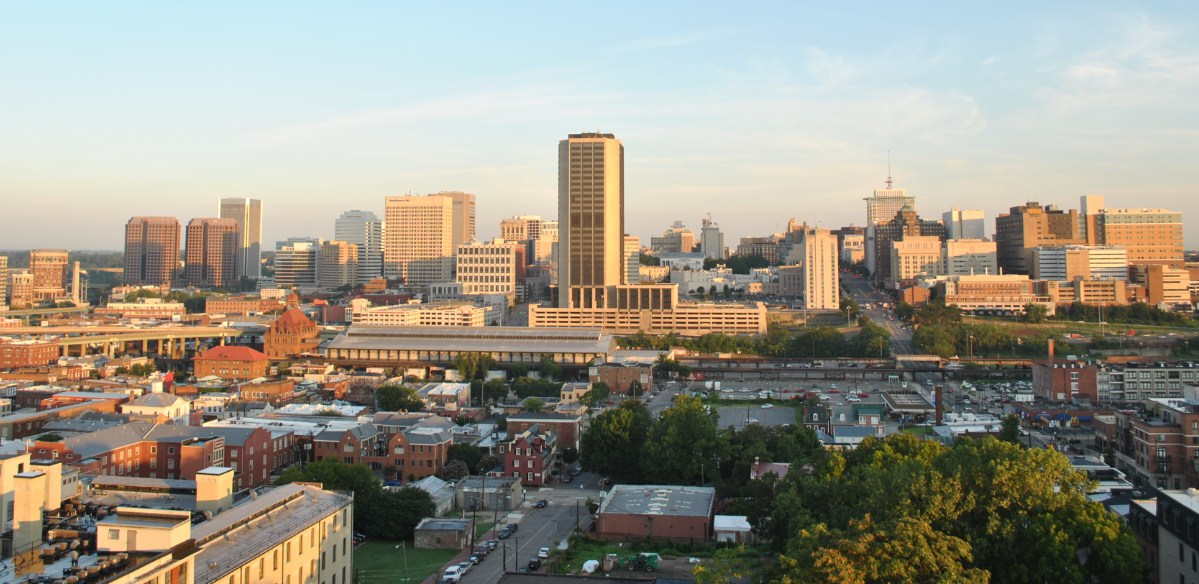 Richmond, Virginia cityscape