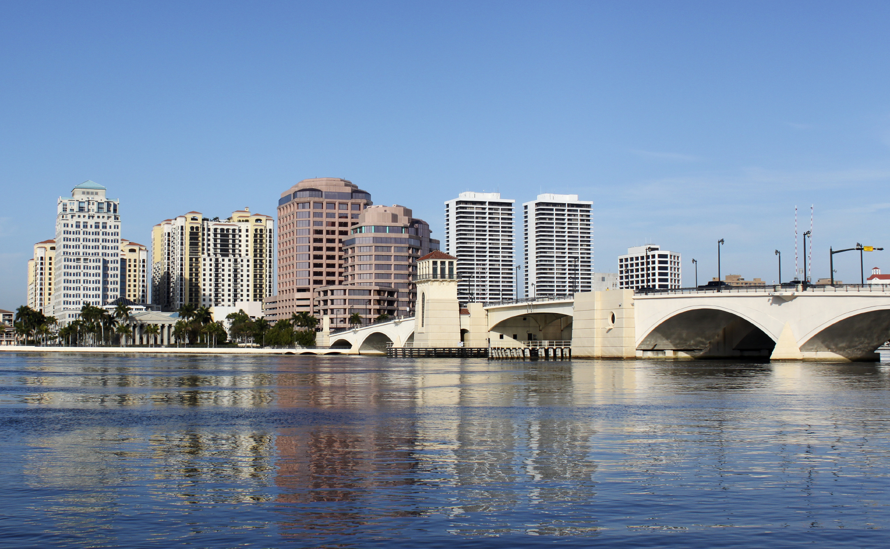 West Palm Beach, Florida cityscape