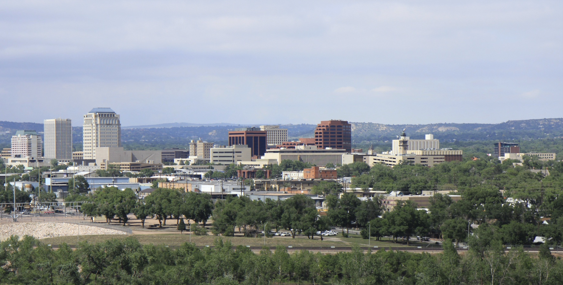 Colorado Springs, Colorado cityscape