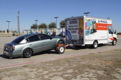Can You Tow A Uhaul With A Rental Car