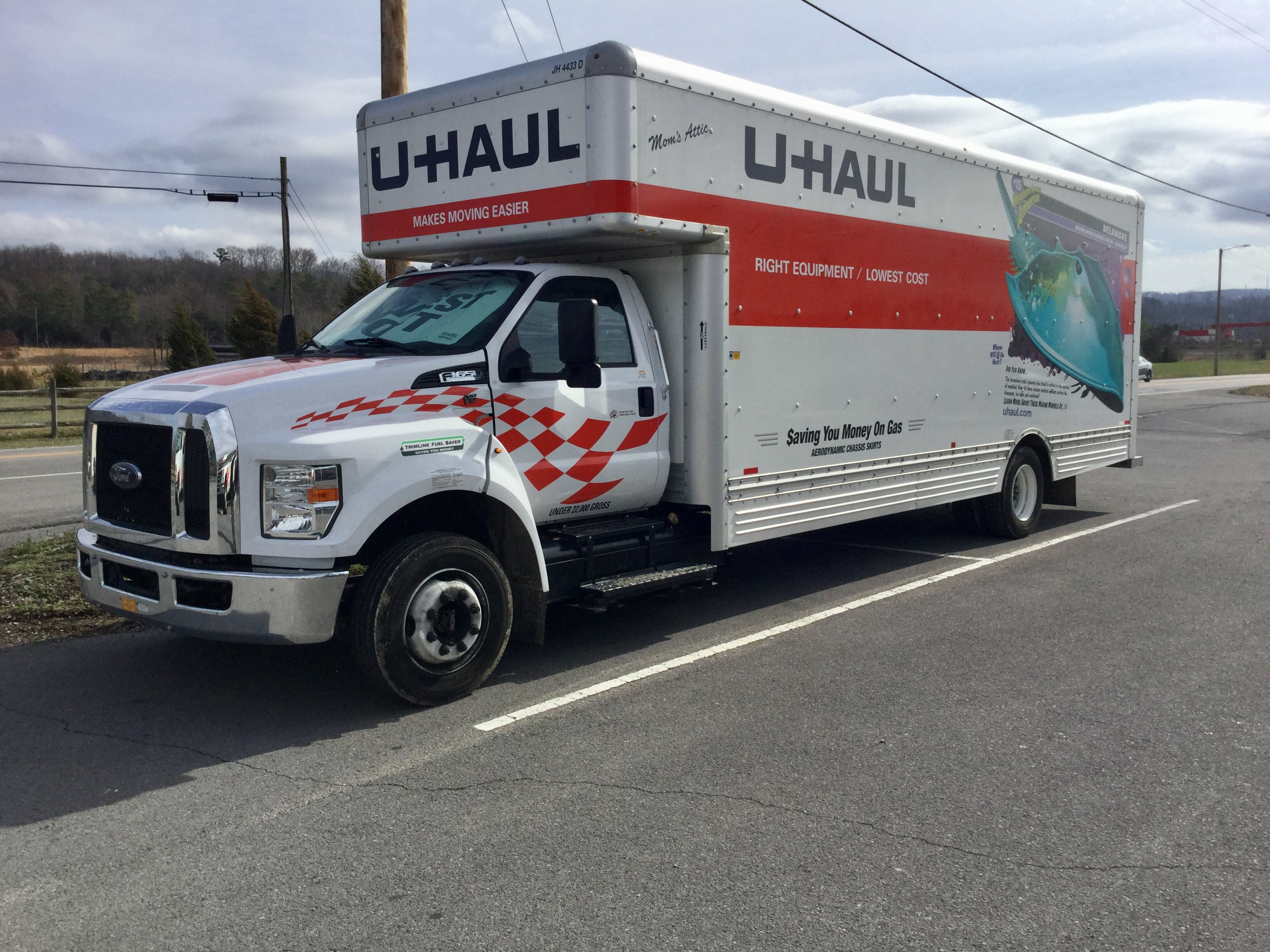 Moving Truck Companies Near Me >> 26ft Moving Truck Rental U Haul