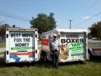 U Haul Moving Truck Rental In Lancaster Ky At Rons Tire Battery