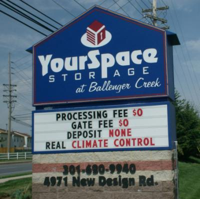 YourSpace Storage. YourSpace Storage @ Ballenger Creek ...