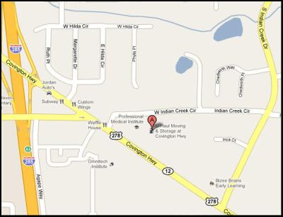 Easily Located Off I 285 And Covington Hwy In Decatur, Between South Indian  Creek