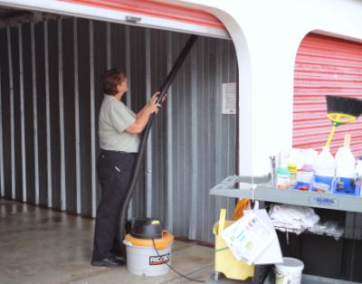 Deborah Is Our Storage Facility Housekeeper She Takes Personal Pride In Her Work