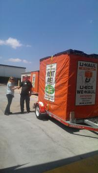 U-Haul: U-Box Moving and Storage containers in Tulsa, OK ...