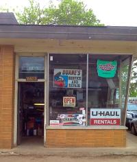 u haul moving truck rental in mound mn at duanes 66 service