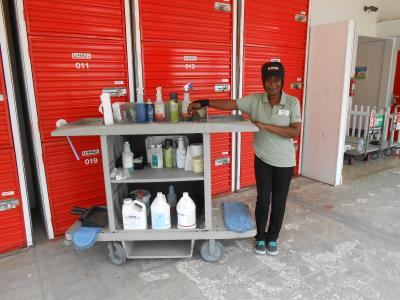 Donna Is Our Storage Facility Housekeeper She Takes Personal Pride In Her Work