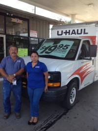 U Haul Moving Truck Rental In Brownsville Tx At Martinez Express