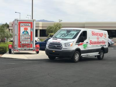 Storage At Summerlin And U Box