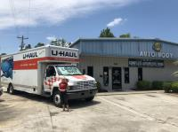 U Haul Moving Truck Rental In Myrtle Beach Sc At Sonnys Auto Body Inc