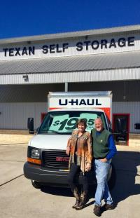 U Haul Moving Truck Rental In Fredericksburg Tx At Texan