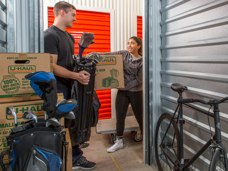 Storage Tips: How to Store Garage Items and Small Engine Equipment in Self-Storage.