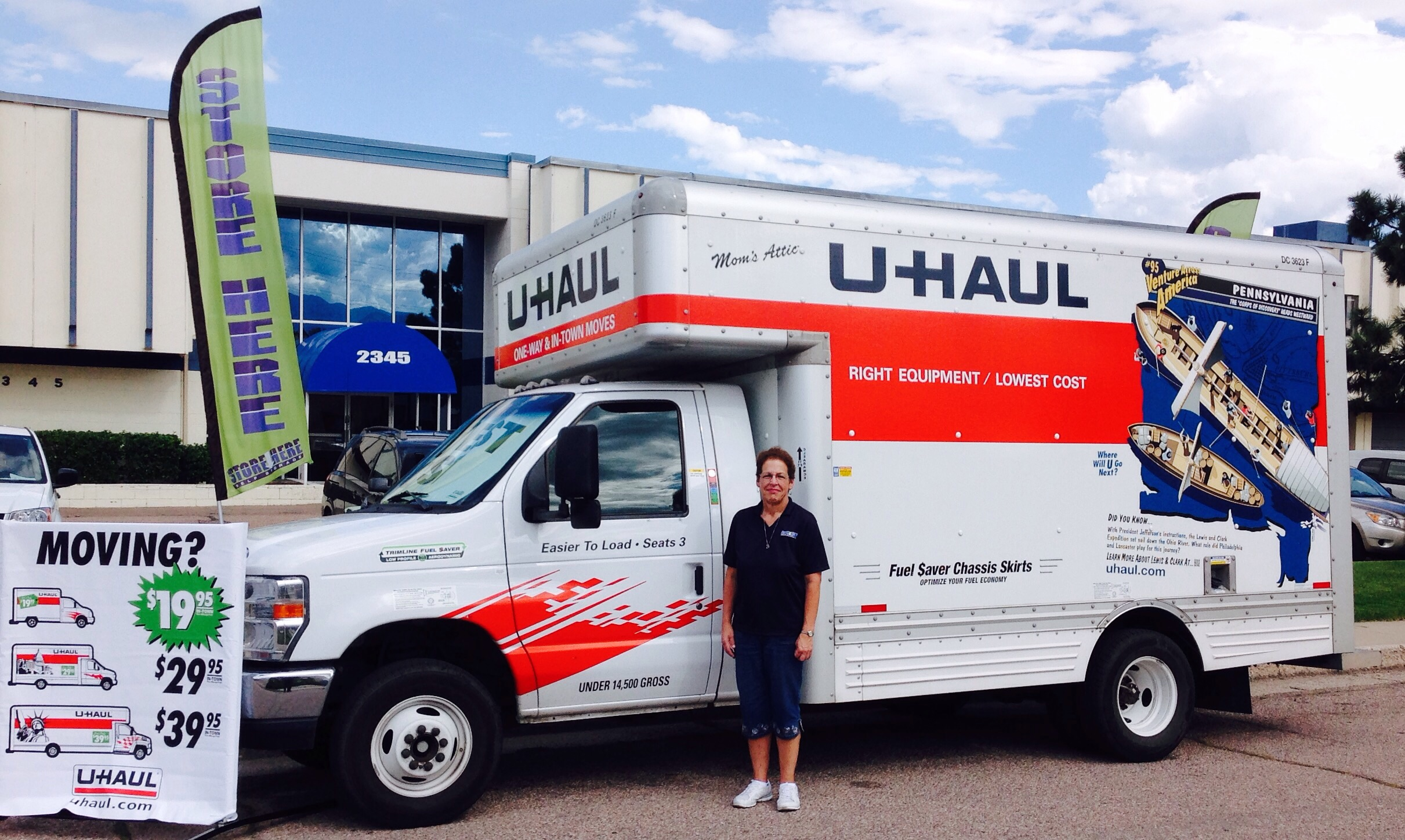 Colorado Springs Gets New U Haul Location At Store Here