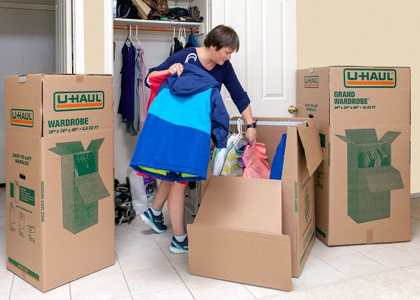 U Haul Tips How To Store Your Clothes In Self Storage
