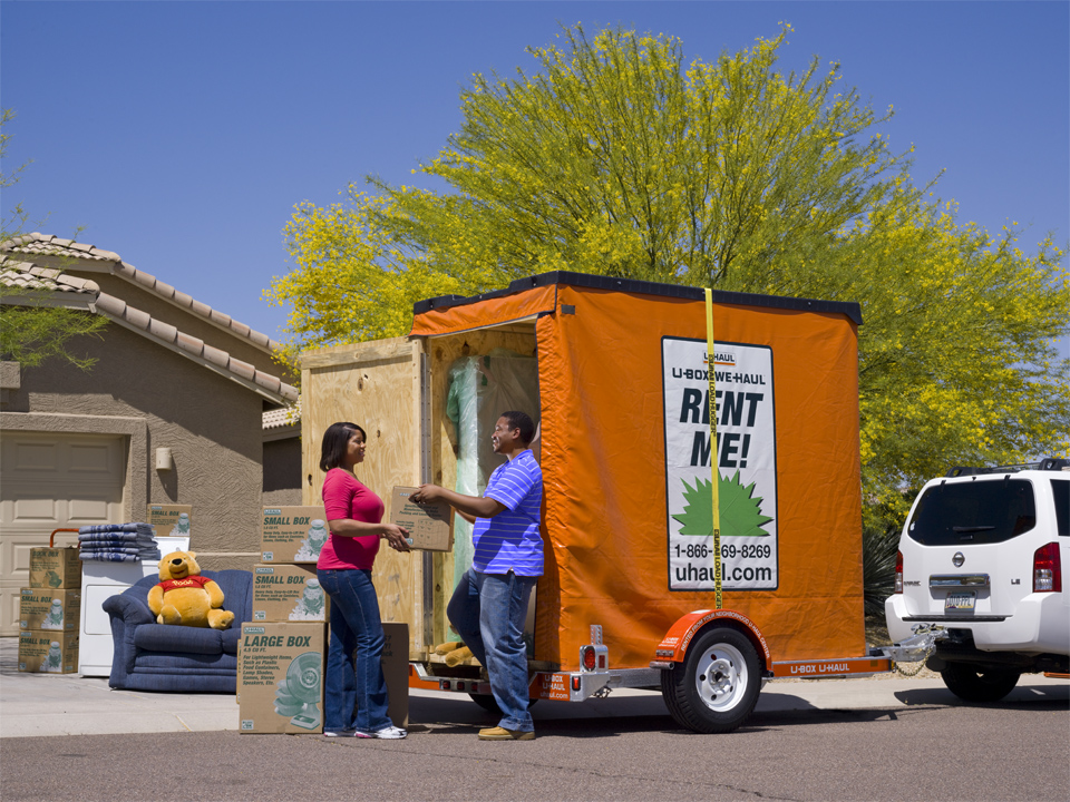 U Haul About Box Portable Moving And Self Storage Containerovinghelpcom Online Marketplace To Debut On Designing Es