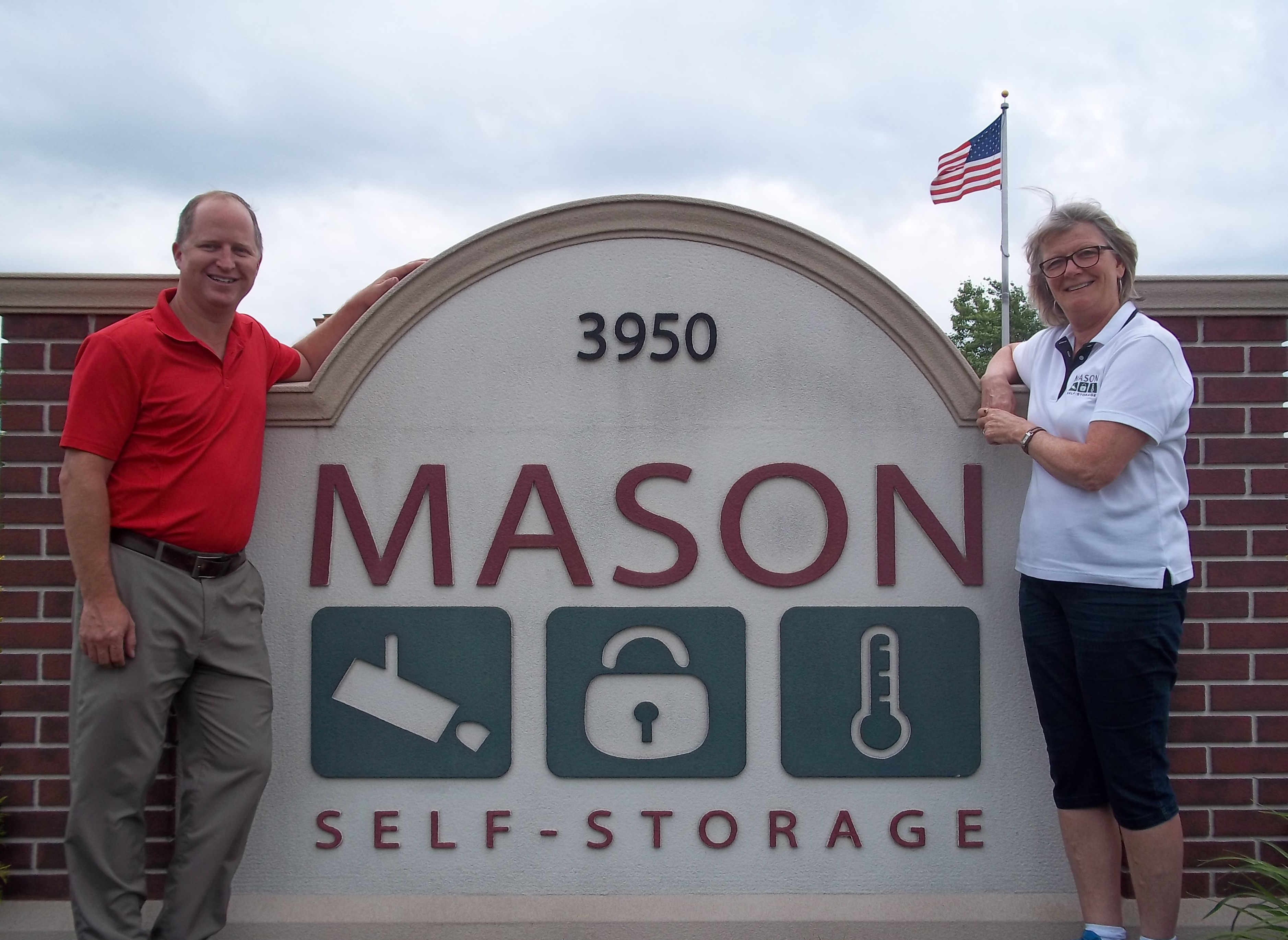 Wally Owner And Julie Manager Mason Self Storage