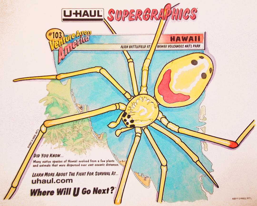 u haul supergraphics coloring contest pages - photo #10