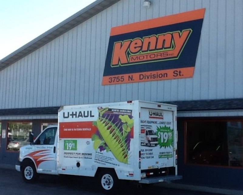 1, 2012) — Ken Polcyn, owner of Kenny Motors, Inc., located at 3755 N. Division St. , recently added U-Haul truck and trailer rentals to the car sales ...