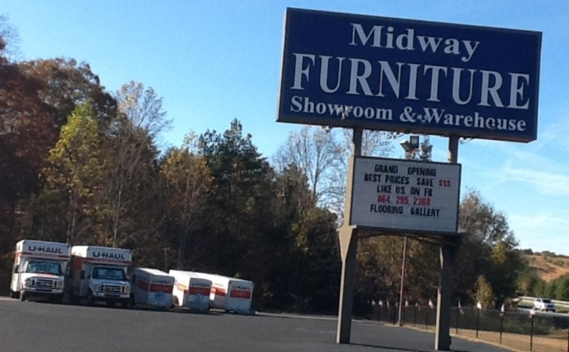 U Haul About Midway Furniture In Greenville South
