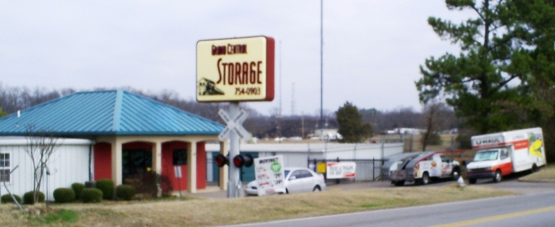 July 21 2017 Davis Gordon Owner Of Grand Central Storage Located At 7384 Raleigh Lagrange Rd Recently Added U Haul Truck And Trailer Als To The