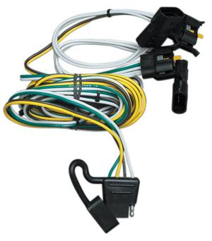 U-Haul: CQT118344 4-Flat with Factory Style Taillight Harness on ignition coil installation, timing chain installation, safety harness installation, radio installation, power supply installation, generator installation,