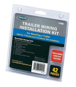 U-Haul: Trailer Wiring Installation Kit 42 Piece on ignition coil installation, timing chain installation, safety harness installation, radio installation, power supply installation, generator installation,