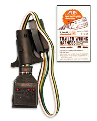 U-Haul: Trailer Wiring Adapter on towing cable, ford focus trailer harness, towing accessories, car towing harness, dodge ignition wire harness, towing light harness, towing wiring connectors, towing stone guards,