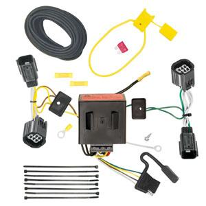 cqt118534 4-flat with factory style battery-powered taillight harness  converter