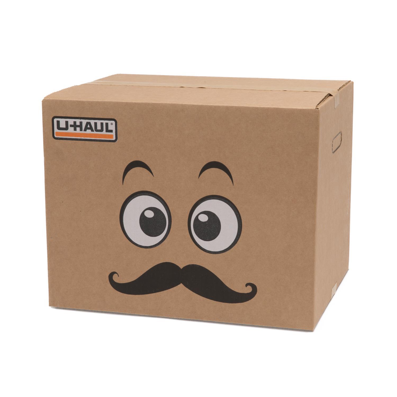 U Haul Mustache Boxman Box