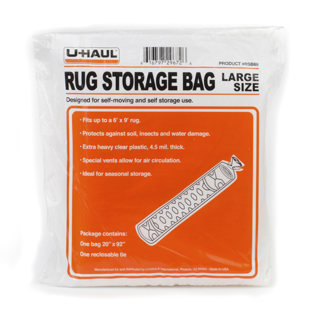 U Haul Rug Storage Bag