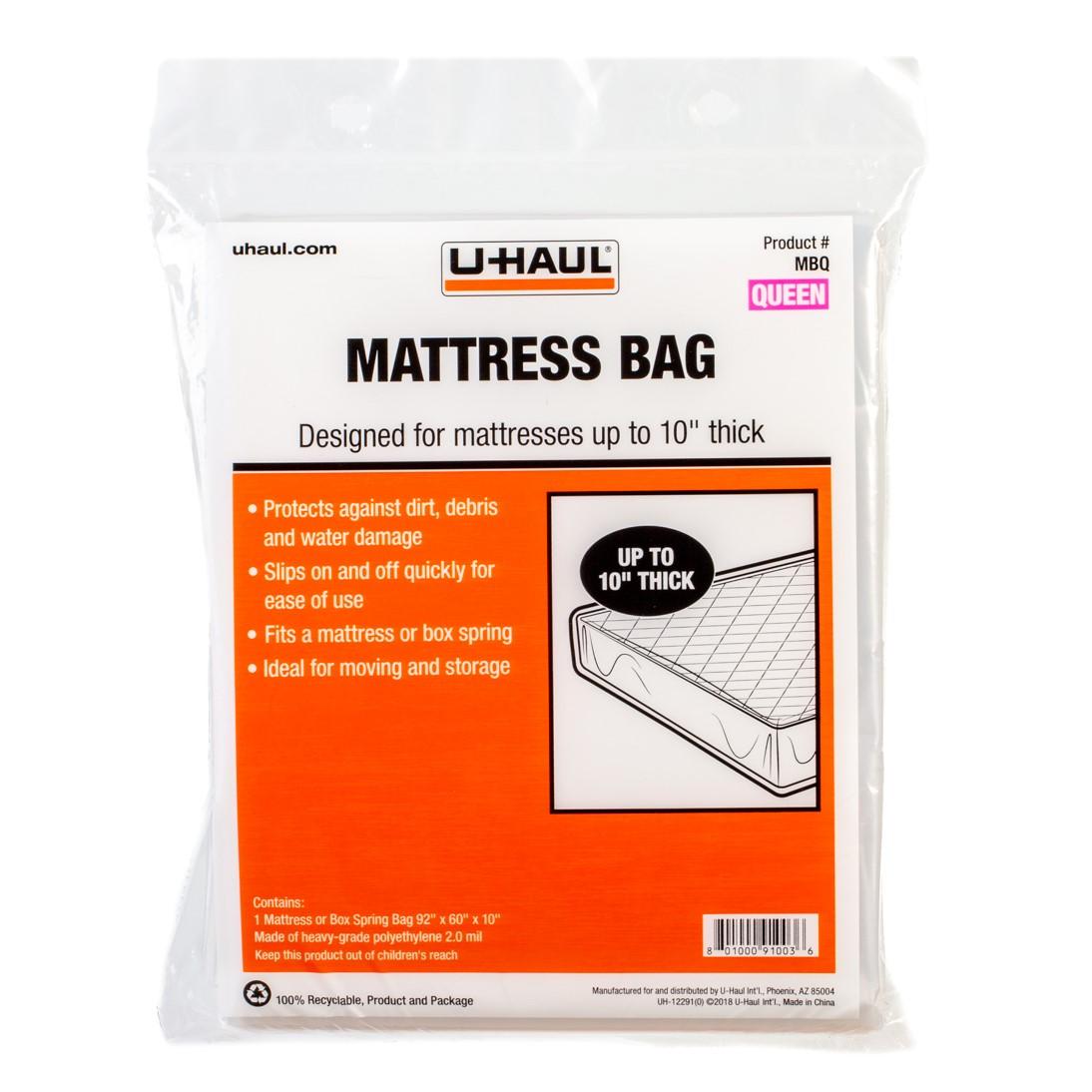 U Haul Mattress Bag Queen