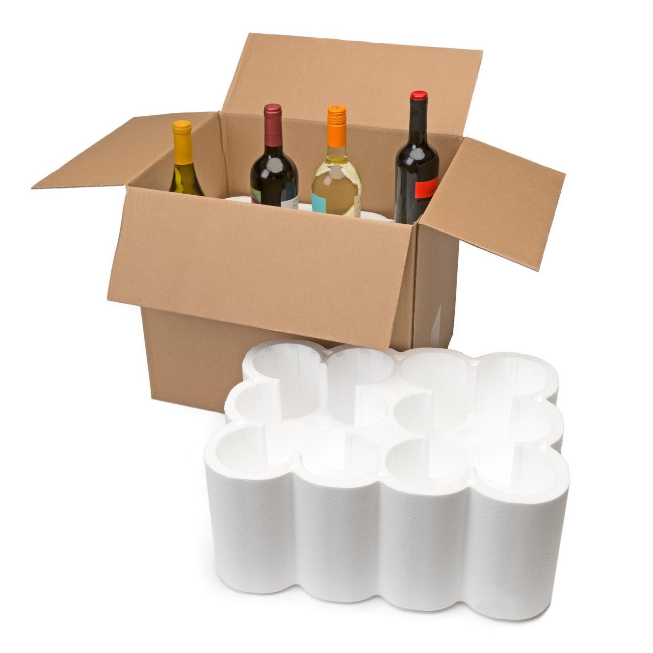 U Haul Wine Shipping Kit Twelve Bottles
