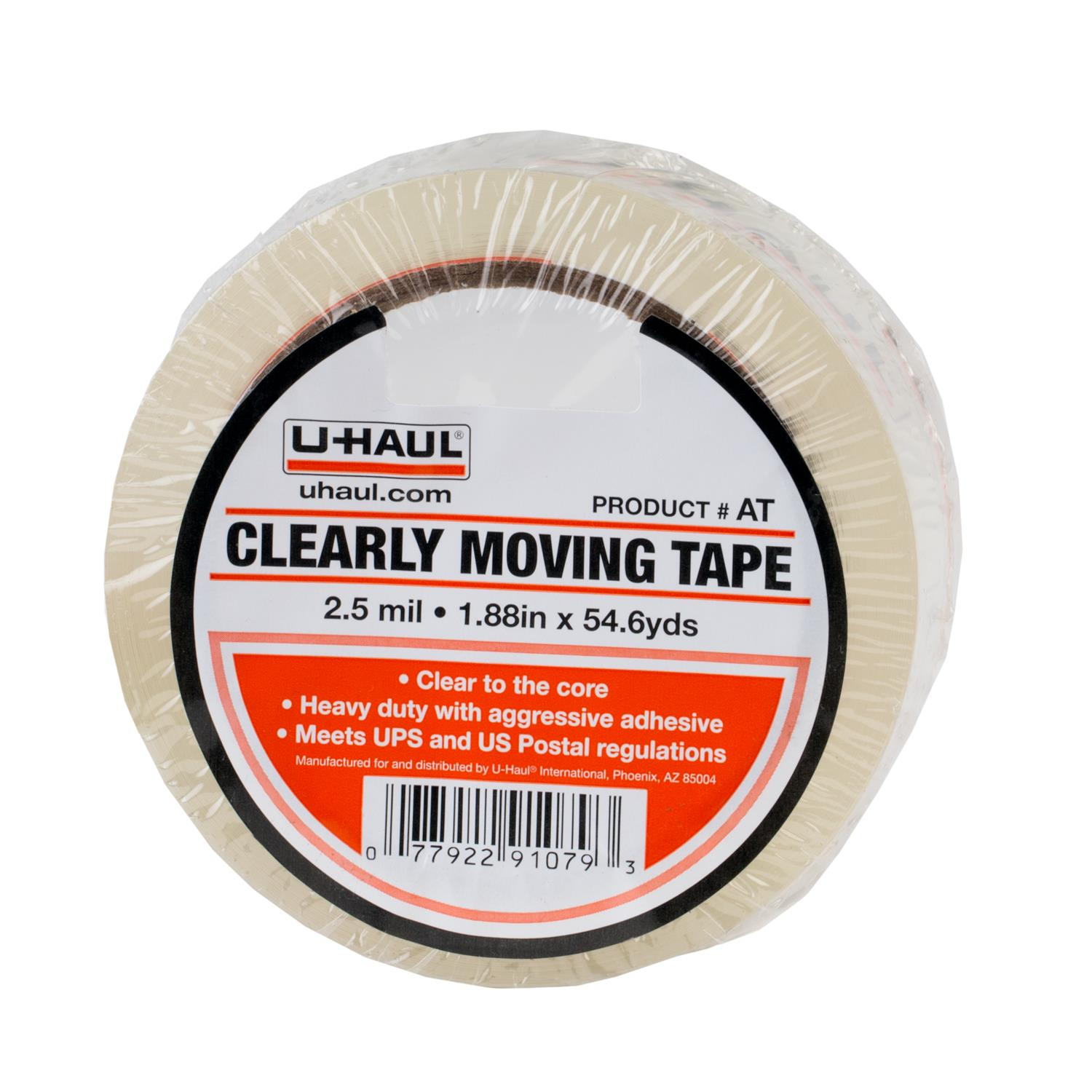 u haul clearly moving tape. Black Bedroom Furniture Sets. Home Design Ideas