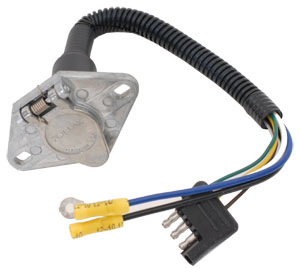 U-Haul: Quick-Connect Trailer-Wiring Harness 6-Way Adapter