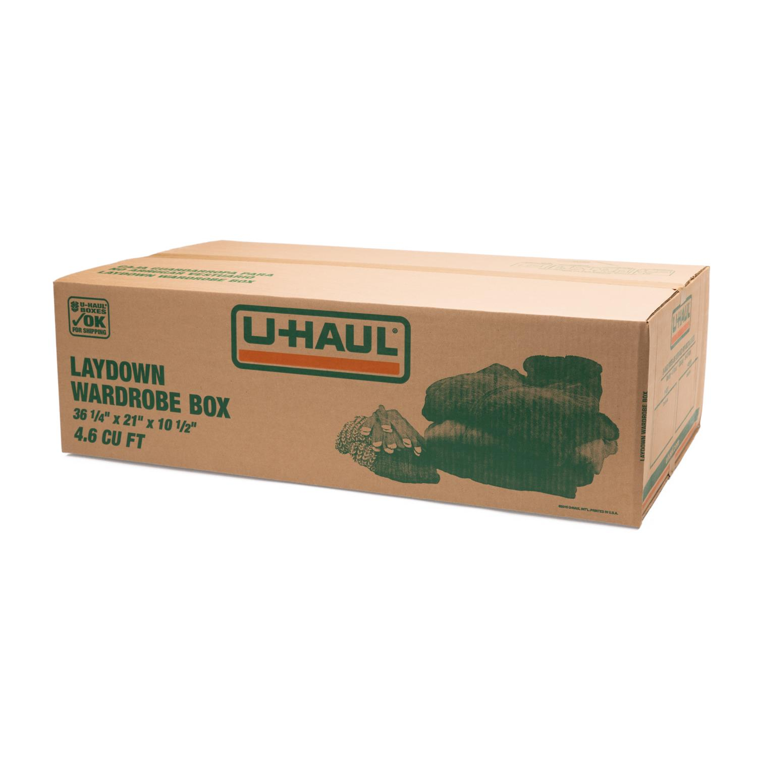 Wardrobe Boxes Uhaul: U-Haul: Laydown Wardrobe Box