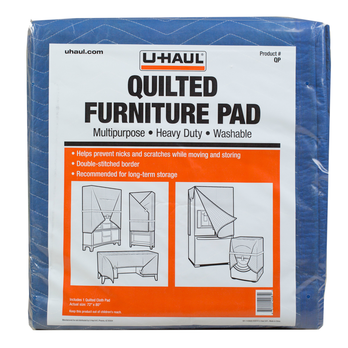 U Haul Quilted Pads