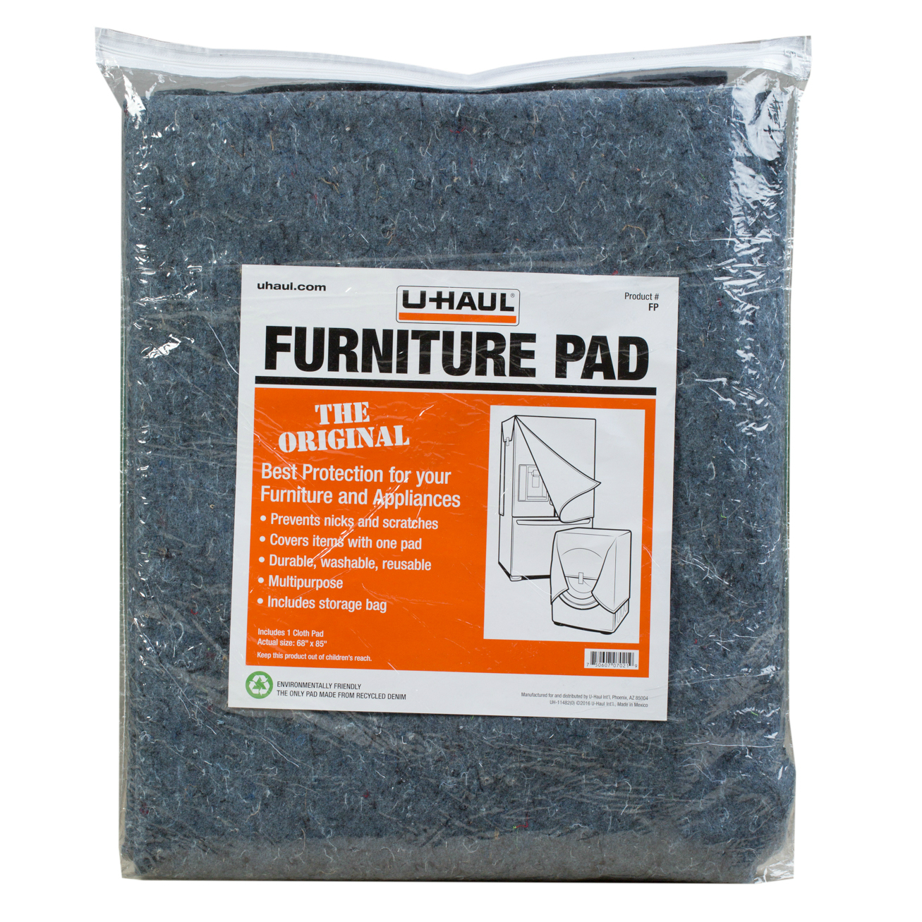 UHaul Furniture Pad - Furniture pads for moving