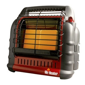 U Haul Moving Supplies BIG Buddy Indoor Safe Propane Heater